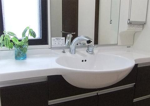 洗面所のつまり・水漏れ修理